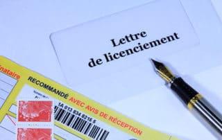 Lettre de licenciement non distribuée