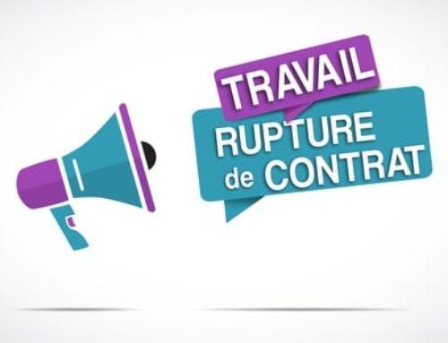 La nullité d'une convention de rupture si elle est remise au salarié après la rupture du contrat de travail.