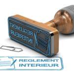 Règlement intérieur non transférable