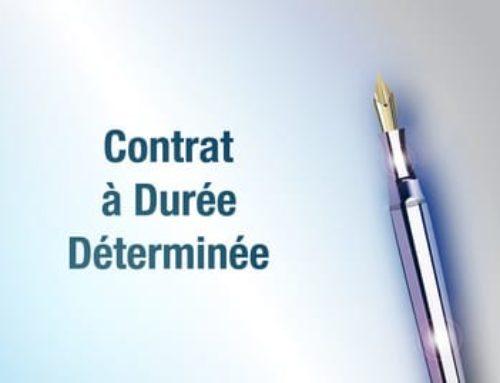 Contrat à durée déterminée: une signature indispensable!