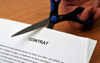 Prendre acte de la rupture du contrat