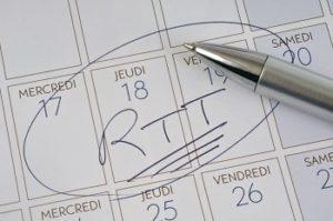 La prise de RTT rallonge la période d'essai